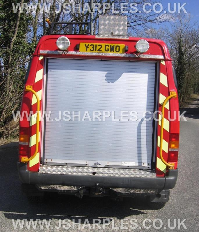 Swiss Vans Large Uk Ford: FORD TRANSIT 4X4 VAN COUNTY DIRECT FIRE SERVICE For Sale