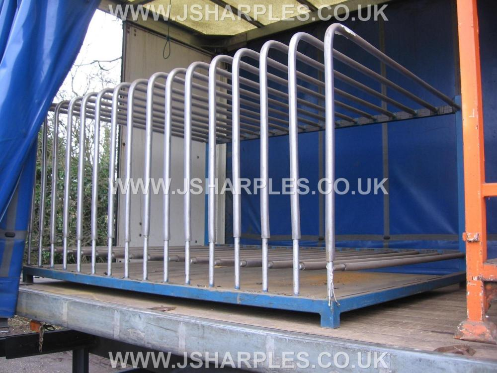 Used Large Toast Rack Style Storage Stillage For Sale