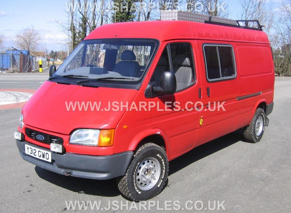 ford transit 4x4 van county direct fire service for sale j sharples. Black Bedroom Furniture Sets. Home Design Ideas