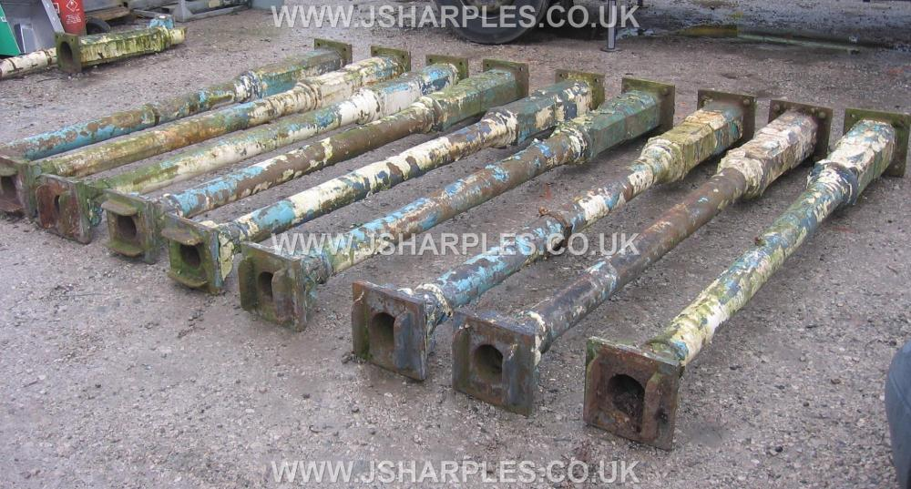10 OLD VICTORIAN ORNATE CAST IRON COLUMNS . for Sale - J ...
