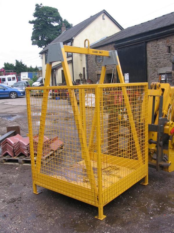 Hiab Crane Etc Lifting Cage For Sale J Sharples