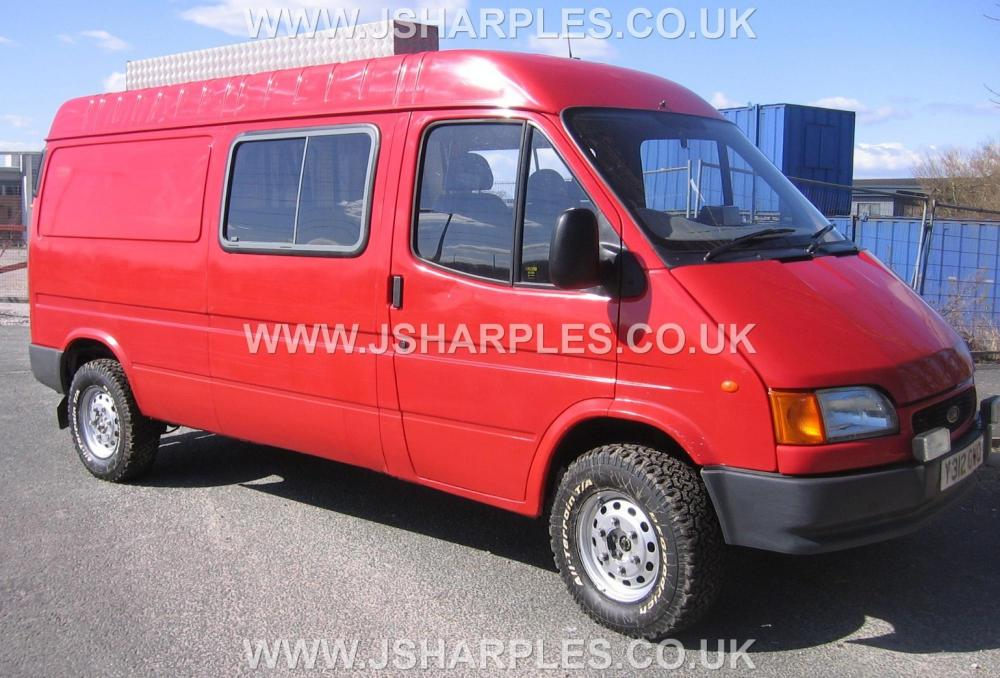 Ford Transit 4x4 Van County Direct Fire Service For Sale J Sharples
