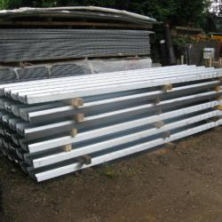 12 FT GALV BOX PROFILE ROOFING SHEET .