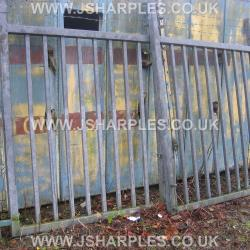 INDUSTRIAL YARD GATES AP 12FT X 7FT .