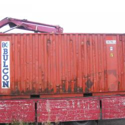 20FT SHIPPING CONTAINER FOR HIRE OR SALE .
