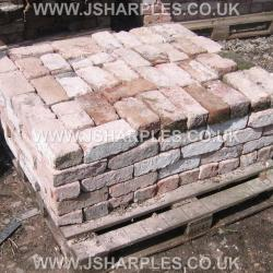 100 OLD RECLAIMED HAND MADE BRICKS
