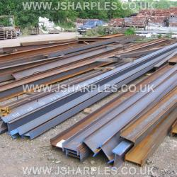STEEL GIRDERS, RSJ, BOX SECTION, ANGLE IRON, STEEL TUBE BRICKS, COBBLES, STILLAGES, RE-BAR, CRASH BARRIERS, STEEL LAMP POLES, PRESTON LANCASHIRE