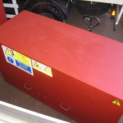 LARGE HAZARDOUS MATERIAL / CHEMICAL / PAINT STORE TOOL STORE - TOOL VAULT