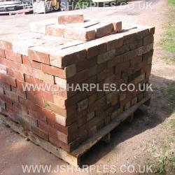 1OO RED WIRE CUT RECLAIMED BRICK .