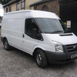 FORD TRANSIT 100 T350M VAN ELECTRIC VAN .