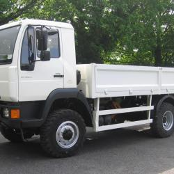 MAN 7.5 TON 4X4 EXPEDITION / OVERLAND CHASSIS CAB .